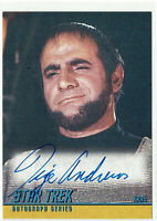 Star Trek The Original Series TOS Season 2 Autograph Card A36 Tige Andrews