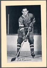 1944-63 Beehive Hockey Premium Photo Group 2 Montreal Canadiens Bobby Rousseau