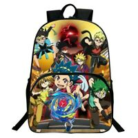 Beyblade Brust Evolution 3D Print Schoolbag Cartoon Bookbag Kids Travel Backpack