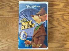 Walt Disney's The Great Mouse Detective (VHS, 1999)