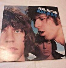 ROLLING STONES BLACK AND BLUE 1976 VINYL LP ORIGINAL AUSTRALIAN PRESSING COC7910