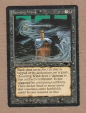 MTG - Haunting Wind - Antiquities - Unc Good/Very Heavily Played - Single Card