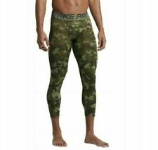 Nike Nike Pro Hypercool 3/4 Tights - green camouflage adults S - RRP of £38