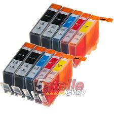 KIT 10 CARTUCCE COMPATIBILI HP 364 XL CON CHIP PER DESKJET 3070A 3520 CN684EE