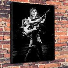 "Ozzy Osbourne - Randy Rhoads Printed Canvas Picture A1.30""x20"" 30mm Deep Metal"