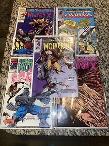 Marvel Comics Presents Wolverine Lot