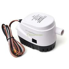DC 12V Boat Automatic Submersible Bilge Water Pump 750GPH Auto WFloat Switch Eym