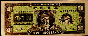 Lucky Chinese $5000 MONEY 💰 💵 💴 Bring Good Fortune!!!