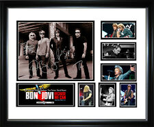 Bon Jovi Limited Edition Signed Framed Memorabilia