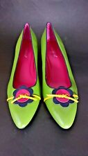 Vtg Madeline Green Womens Shoe Sz 10M