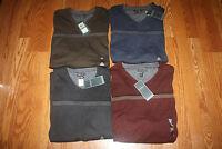 NWT VAN HEUSEN Crew Neck/V Neck Long Sleeve Sweater M L XL 3XL