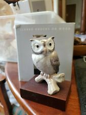 Lucky Owl - With Base Figurine By Lladro #8035