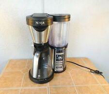 NINJA COFFEE BAR W/ GLASS CARAFE AUTO-IQ 1 TOUCH INTELLIGENCE CF080W COLD HOT