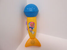 Bubble Guppies Microphone Rockin Micro-fin Toy 2012 Fisher Price
