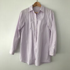 Snidel blouse in lilac 100% cotton size small