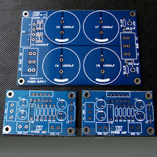 LM3886 HIFI Power Amplifier PCB * 2pcs + Rectifier Filter Power Supply PCB