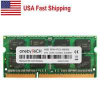 US 4GB PC3-10600 DDR3 1333MHz 204pin SO-DIMM For MacBook Pro  A1278 A1286 A1297