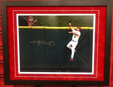 Jim Edmonds St. Louis Cardinals Signed Framed 11X14 Beckett BAS