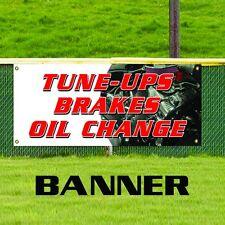 Tune Ups Brakes Oil Change Banner Car Auto Ac Muffler Tire Repair Shop Sign