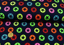 türkis uni ANGEBOT Baumwolljersey 2 x 25 x 150 Dino Neonfarben auf schwarz