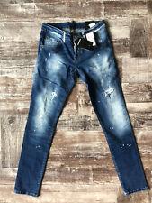 "NEW Dsquared Slim Jean Jeans Waist 34"" / Inseam 33"" SIZE 50"