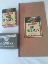 Vintage Big Business Board Game 1936 - 1937 Editions TRANSOGRAM