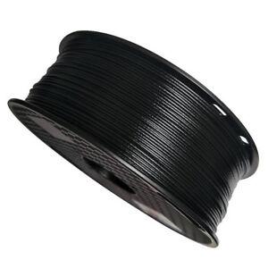 PP 1.75mm 3D Filament Black 3D Printers Polypropylene low density Glass Filled