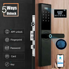 Smart Door Lock Security Electronic APP Touch Password Keypad Card Fingerprint