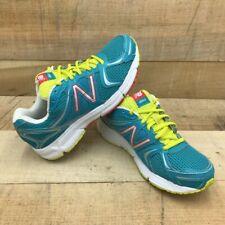New Balance Womens 490V2 Running Shoes Blue Low Top Lace Up Mesh W490TGL2 8 B