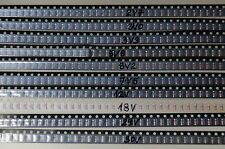 600pcs KIT zener diode   2V7 3V0 3V3 5V6 7V5 8V2 12V 15V18V 24V 30V 36V GS