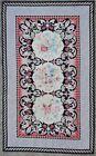 Rug carpet antique European Europe Needlepoint 1980