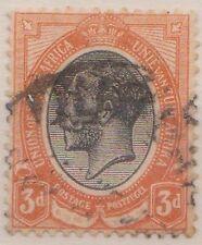(RSB64) 1913 RSA 3d black &orange KGV used