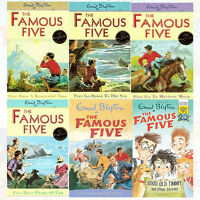 Famous Five Books 11 to 15 and World Book 5 Books Collection Set By Enid Blyton