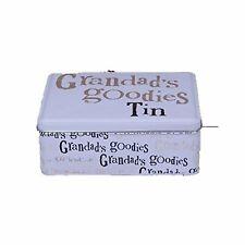 The Bright Side Storage Tin - Grandad's Goodies Tin- Storage DIY Box Gifts Fo...