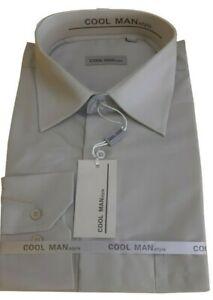 Camicia classica uomo Cool Man manica lunga collo Classico art 071