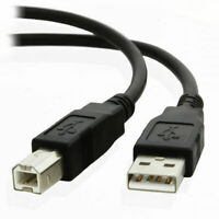 3m USB Cable Printer Lead Type A to B Male High Speed 2.0 Premium Quality for HP
