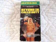 BEYOND THE CALL OF DUTY VHS OPERATION OUR MISS FRED DANNY LA RUE COMEDY WAR WWII