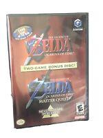 Nintendo Gamecube Legend of Zelda Two-Game Bonus Disc Factory Sealed Ocarina
