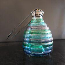Piège à guêpes en verre vintage art-déco France