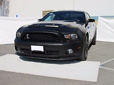 Colgan Front End Mask Bra 2pc. Fits Ford Mustang Shelby GT500 2010-2012 W/O Tag