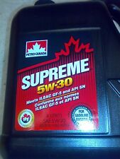 Premium Quality Motor Oil Supreme 5W30 5W-30 4l JEEP CHRYSLER DODGE GM Ford