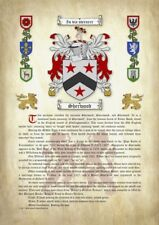 A4 Surname Origin & Meaning with Coat of Arms (Family Crest)