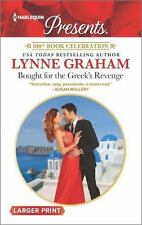 Bought for the Greek's Revenge by Lynne Graham (2016, Paperback, Large Type)