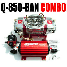 QUICK FUEL Q-850-BAN BLOW THRU CARB AEROMOTIVE 11101 PUMP REG 13204 PACKAGE