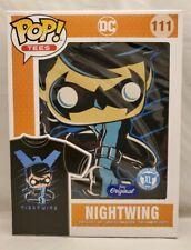 Funko Pop Nightwing T Shirt XL DC Limited Edition Unisex Black Blue
