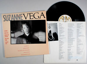 Suzanne Vega - Self Titled (1985) Vinyl LP •PLAY-GRADED• Small Blue Thing