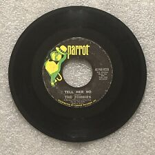 The Zombies – Tell Her No / Leave Me Be LP 45-PAR 9723 / 1965 Rock