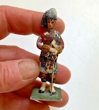 Greenwood & Ball RARE Antique Highlanders Officer~Miniature hand painted Soldier