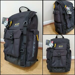 Under Armour Project Rock Regiment Backpack Black 1353719-001 UA Laptop bag