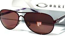 NEW* Oakley FEEDBACK Blackberry Aviator POLARIZED Rose Womens Sunglass 4079-10
